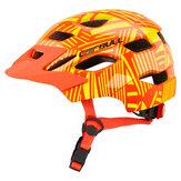 CAIRBUL-46ジョイトラックキッズヘルメット自転車スクーターバランスホイール安全ヘルメットテールライト付き