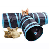 Yani MC-PW1 3 Way Cat Playing Tunnel Creative Pet Cat Floding Jouets de décompression