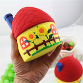 Squishy Lovely House 12cm Miękka powolna kolekcja Cute Kawaii Gift Decor Toy