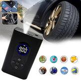 BIKIGHT 150PSI 4000mAh 4 في 1 مضخة هواء متعددة الوظائف LED ضوء القوة Bank USB مضخة دراجة قابلة لإعادة الشحن سيارة دراجة كهربائية سكوتر كرة السلة مضخة
