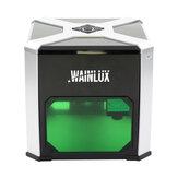 WAINLUX® Nuovo K6 3000mW Laser Incisore WIFI USB Controllo intelligente Logo fai-da-te Stampante con marchio Carver Desktop Laser Macchina per incisione Banggood Anteprima mondiale