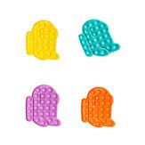 Yeni Çok renkli Popits Fidget Push Kabarcık Duyusal Komik Stres Rahatlatıcı Eğitim Bulmaca Fidget Oyuncak Yetişkinler Çocuklar için Yaratıcı Hediyeler