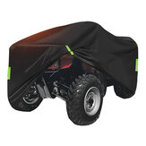 190T Waterproof Quad Bike ATV Cover with Reflective Stripe Universal Covers 250x110x120cm