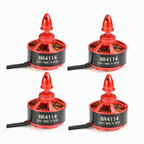 4X Racerstar Racing Edition 4114 BR4114 400KV 4-8S motore senza spazzola per 600 650 700 800 RC Drone FPV Racing