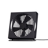VH CE 7 Polegada Mini Ventilador De Metal Mudo Portátil Dual Mode Home Office Desk Fan Brushless Do Motor