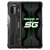 Ulefone Armor 10 5G IP68 IP69K Impermeabile 6,67 pollici 8 GB 128 GB 64 MP Quad fotografica NFC 5800 mAh 15 W Carica wireless MTK Dimensity 800 Octa Core Rugged Smartphone
