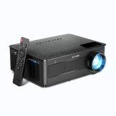 Blitzwolf® BW-VP10 LCD Full HD Projektör 1920x1080P Fire TV için 6500 Lümen Bağlantı Noktaları Çubuk HDMIx3 USB VGA AV TF Kart Ses 5000: 1 Kontrast 2 * 5W HiFi Hoparlörler Akıllı Ev Taşınabilir Sinema Projektör Outdoor Film Işınlayıcı Uz