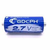 GDCPH 2.7V3000F مقوم بادئ تشغيل السيارة مكثف فائق معادلة لوحة 500F
