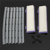 10pcs Replacement Adhesive Tapes / HEPA Filters and Scratch-chip For Neato XV Sweeper