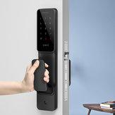 XIAOMI MIJIA Home Smart Mi Door Touch Electronic Lock Live Fingerprint Unlock Door Lock Push-Pull Type Black