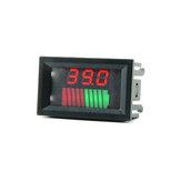 DC 12V 24V 36V 48V 60V 72V Coche Plomo ácido Batería Indicador de capacidad Indicador de nivel de carga de batería de litio digital de 10 segmentos