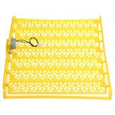 154 ovos codornas turner bandeja recipiente para incubadora incubadora com motor de giro automático de 220V
