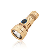 Lumintop GT NANO Copper/Brass 450LM 300m EDC Flashlight with 10180 Battery USB Rechargeable Mini & Long Distance Powerful LED Torch