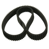 2pcs Drive Belt Kit Replacement For Escooter Electric Scooter HTD 384-3m-12