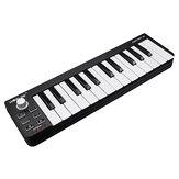 Worlde Easykey 25 Przenośny elektroniczny MIDI Keyboard Mini 25 Key USB MIDI Controller