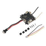 Happymodel Mobula6 Spare Part Crazybee F4 Lite 1S Flight Controller AIO 5A BLheli_S ESC & Receiver & 40CH 25mW VTX for Whoop RC Drone FPV Racing