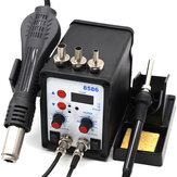 8586 Soldering Station SMD BGA Rework Hot Air Blower Heat Welding Soldering Iron Repair Tool