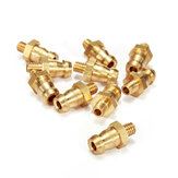 Brass Water Cooling Straight Nozzle M3/M4/M5/M6 For RC Boat