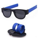 ファッションサマーFoldableサングラス屋外偏光UV400男性の女性のための乗馬メガネ