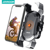 Joyroom Bike Phone Holder Mount Secure Lock & Full Protection Bicycle Holder for Mountain Bike Motorcycle for 4-6.8 inch Smartphone