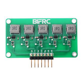 BIFRC 1.5A High Current Balance Module Lipo Battery Active Equalizer Board 2-6S Energy Transfer Equalization PCB Circuit Board
