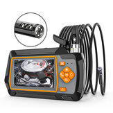 Bakeey AGC-430 Borescope Camera 5.5MM 1080P HD Dual Lens Inspection Camera 6LED IP67 Industrial Borescope 1/5M Flexible Snake Line with 4.3 Inches LCD Screen