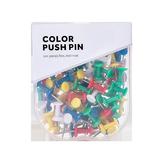Jordan & Judy JJ-YD0026 Kolorowe Szpilki Wciskane Binder Klipy Metalowe Pinezki Do Kciuków Mapa Rysunek Szpilki Push Akcesoria Biurowe Artykuły Szkolne Papiernicze