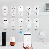 SONOFF® S26 10A AC90V-250V ذكي WIFI Socket CN / US / UK / AU / DE / FR / BR / CH / IL / IT Wireless Plug القوة Sockets ذكي Home Switch يعمل مع Alexa Google Assistant IFTTT