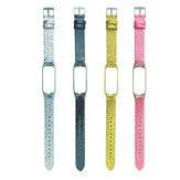 Pure Color Bright Stars Watch Strap Watch Band for Xiaomi Miband 3 / Miband 4