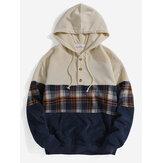 Casacos casuais de mangas compridas de mangas compridas em manta de veludo cotelê com bolso