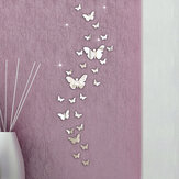 Honana DX-Y5 30PCS Butterfly Combination 3D Mirror Wall Stickers Home Decor DIY Room Decoration