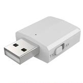 Adaptador bluetooth USB 3 in1 5.0 USB 3.5mm Aux Transmissor de áudio Receptor dongles bluetooth com botão One para alto-falante de TV de carro, computador