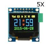 5 Adet 0.95 İnç 7pin Tam Renkli 65K Renkli SSD1331 OLED Ekran SPI Geekcreit Arduino - resmi Arduino panoları ile çalışan ürünler