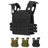 Oxford Cloth Adjustable Tactical Vest Military Molle Combat Assault Protective Clothes CS Shooting Hunting Vest