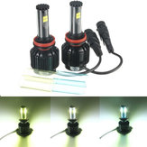 80W 8000LM LED Coche Faros Faros antiniebla Kit H8/H9/H11 9005 8-32V IP68 DIY Temperatura de color