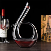 1200ml Crystal Glass Alcohol Decanter Liquid Carafe Aerator Pourer