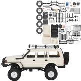 WPL CB05S-1 LC80 1/16 4WD OFF Road RC Car Kit Modelos de veículos com rack de teto