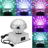 18W DMX512 6 LED RGB Stage Light Magic Ball Laser Light for Bar DJ KTV Festa de Natal do Dia das Bruxas