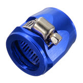 AN4 Hose End Finisher Fuel Oil Water Pipe Jubilee Clip Clamp