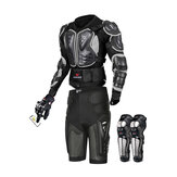 Wosawe Motorcycle Body Armor Suit Motorcycle Jacket+Hip Protector+Gloves+Knee Pads Cycling Clothing