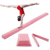 94.5x5.9inch Volwassen Kinderen Professionele Gymnastiek Evenwichtsbalk Mat Roze Vaardigheid Prestatie Training