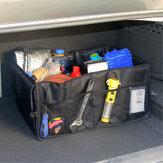 Gövde Kargo Düzenleyici Katlanabilir Taşınabilir Oxford Bez Büyük Depolama Çanta Araba SUV için