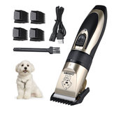 [USA DIRECT] USB Oplaadbare Pet Hair Clipper Cat Dog Trimmer Kit Pet Grooming Scissor Portable Pet Accessories