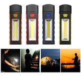 Super Bright Adjustable Magnetic COB LED Luz de trabalho Bateria Supply Camping Tent Lantern Com Gancho