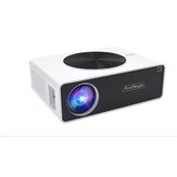 Q9 1080P LCD Portable Projector FUll HD 6500 Lumens 2000:1 200 -inch Multimedia for Outdoor Movie Home Theater