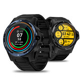 [Panggilan Video] Zeblaze THOR 5 Band Dual Chipset Global 800w Kamera menghadap ke depan 2G + 16G Dukungan WIFI GPS 1.39 inch Layar AMOLED 4G LTE Watch Phone