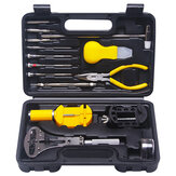 37pcs Watch Repair Tools Kit Professional Watch Tools Watch Opener Link Pin Remover Pry Screwdriver Watch Repair Tools Kit Clock Watch Parts