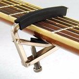 Trigger Tune Quick Change Key Clamp Capo do akustycznej elektrycznej gitary klasycznej