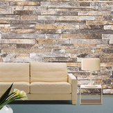 Papel de pared 3D Piedra de ladrillo Patrón Vinilo WallPaper Rollo Salón TV Fondo Decoración