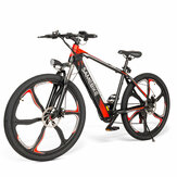SAMEBIKE SH26 8Ah 36V 350W Electric Bike 26 in Alloy Integrated Wheel 30km/h Top Speed 70km Mileage 150kg Max Load E-bike Mountain Bike